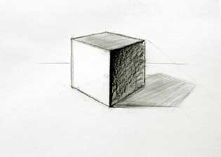 Cubes drawing